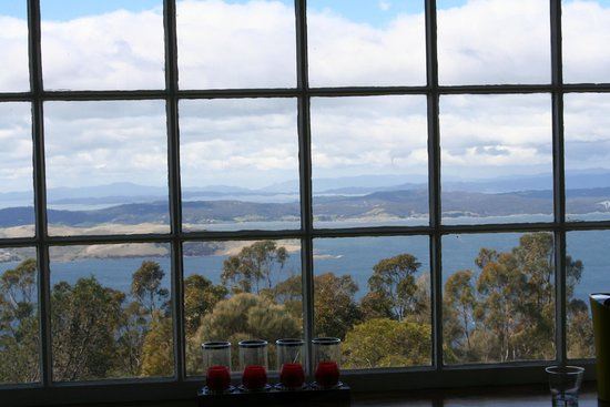 Signal Station Brasserie : Over the Derwent, from our Table