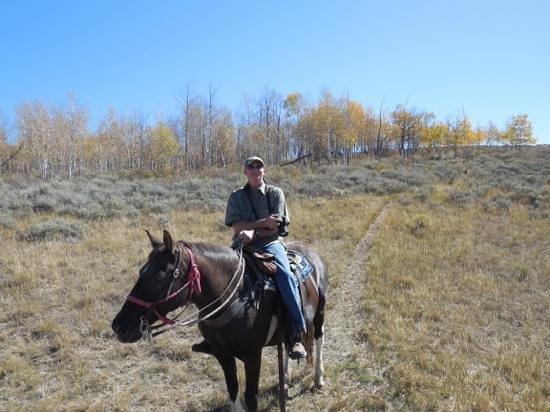 Spring Creek Riding Stables: Enjoying the view