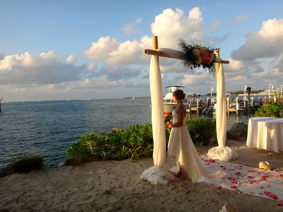 Hyatt Centric Key West Resort And Spa Beach Wedding