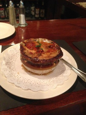 """Oysters Too: French Onion Soup - """"The Tops"""""""