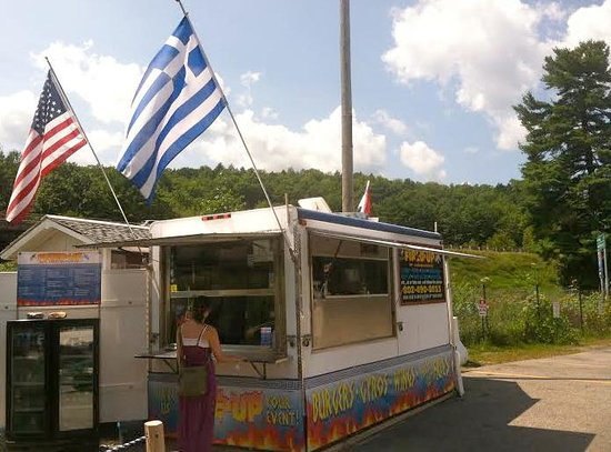 Brattleboro Outlet Center: Seasonal Summer Food Truck- Fired Up Greek American Food