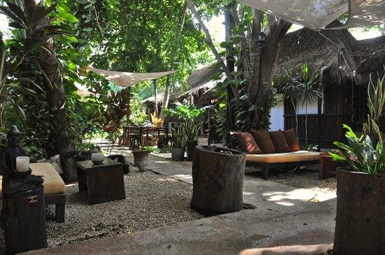 Secret Garden Hotel: bello, bello jardín. Paz.