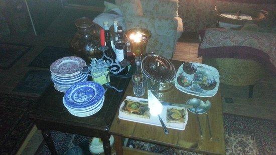 Le Thé dans la Vigne : Dessert table