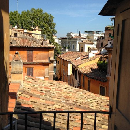Navona Colors Hotel : Room with a view, 3rd floor