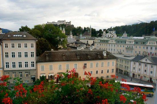 Bristol Hotel Salzburg : Room With A View!