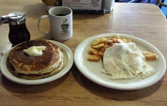 Penny Ann's Cafe: heavenly hotcakes!