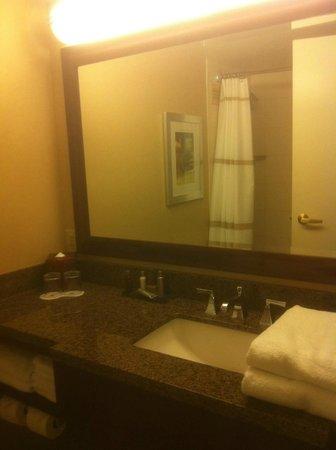 Durham Marriott City Center: Clean Bathroom