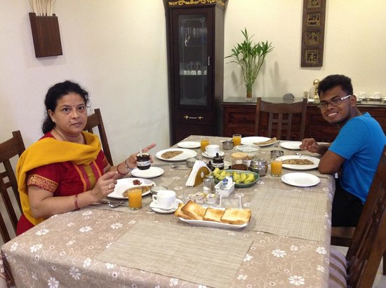 Breakfast at Bansi Home Stay