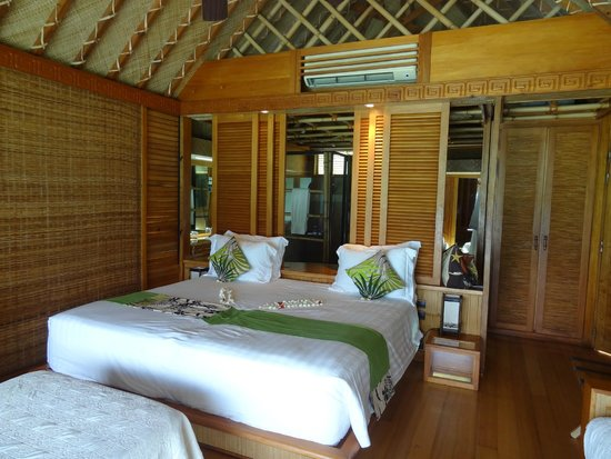Inside Of Overwater Bungalow Picture Of Bora Bora Pearl