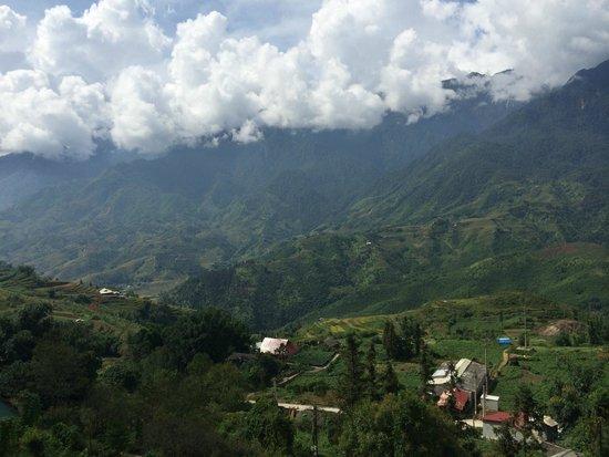 Bamboo Sapa Hotel : View from room balcony