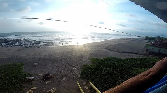 Surf Tours Nicaragua: View from the Rancho/House