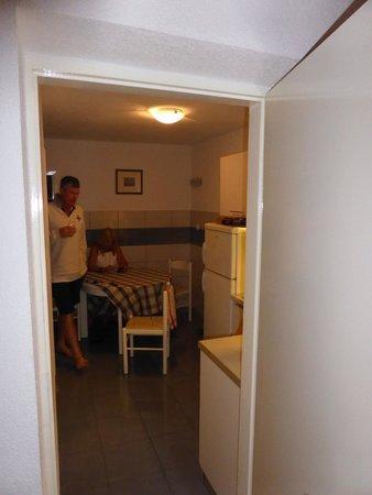 Apartmani Viskovic Marinka : Looking into the kitchen