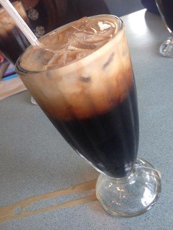 Thai Noodles Cafe: Thai iced coffee
