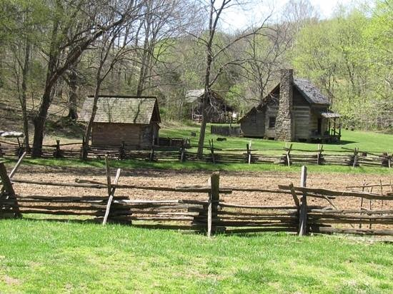 Land Between the Lakes National Recreation Area: Homestead Farm---Land Between the Lakes