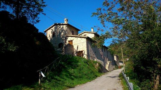B&B La Terrazza del Castello: La Casetta di Camilla dall'esterno