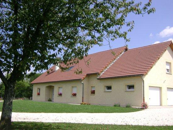 Haute-Saone, Prancis: Maison d'hôtes La Ferme de la Velle