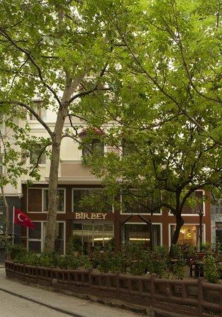 โรงแรมเบอร์บี้: bahçe