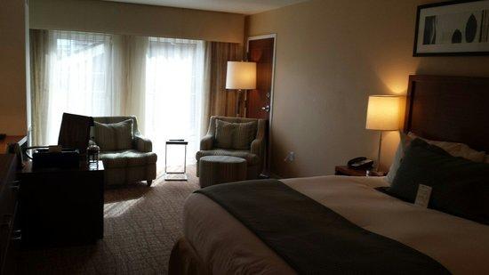 The Heathman Hotel Kirkland: Our Beautiful hotel room #226