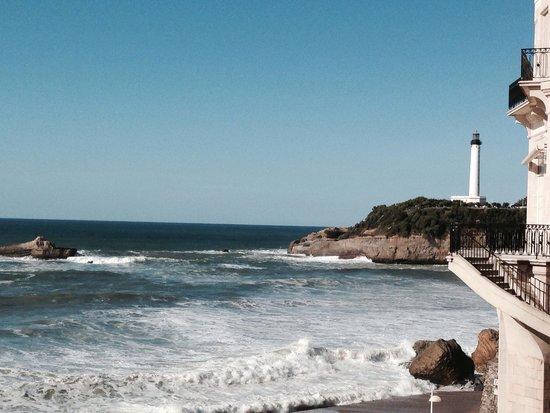 Sofitel Biarritz Le Miramar Thalassa sea & spa: a room with a view