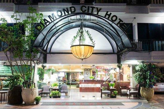 Diamond City Hotel: Front Hotel