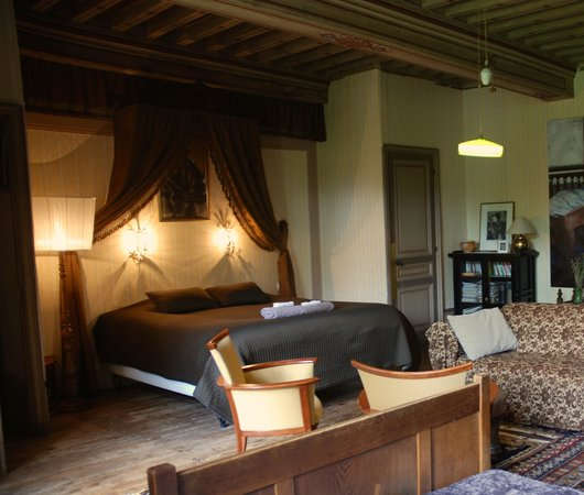 Chateau de Burnand : The Silver Room