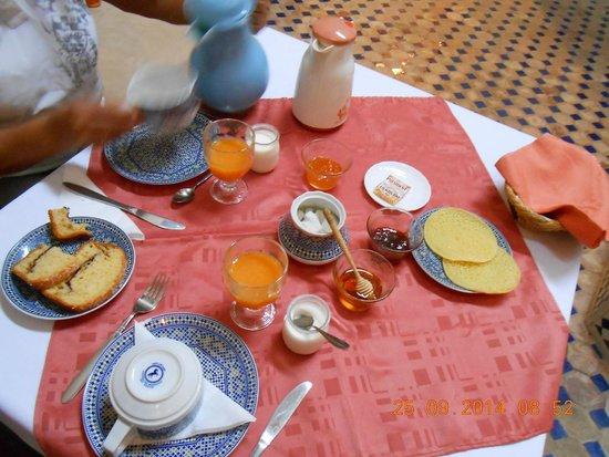 Riad Marana: la colazione