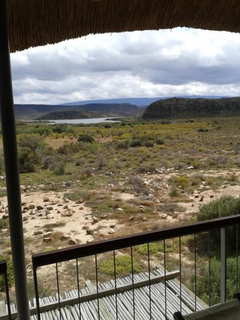 Sanbona Game Reserve - Gondwana Lodge: View from upstairs bedroom