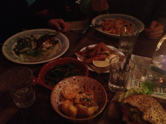 Jamie's Italian: Nuestra comida