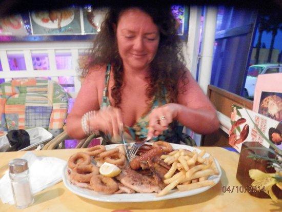 Restaurante Atlantic : no I didn't finish it!!!!