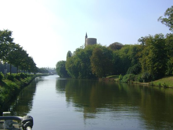 Gentpoort, Brujas, Bélgica.