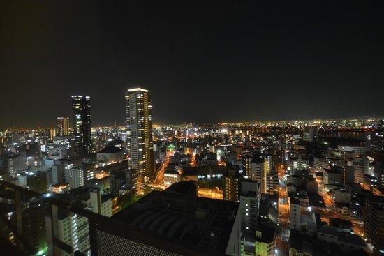 The Westin Osaka : 部屋からの夜景