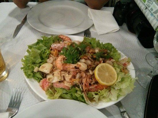 Casa Adao : Порция салата