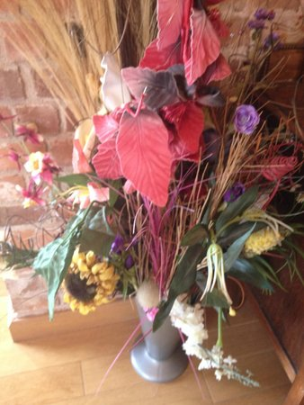 Shetton Barns : Just part of the vast plastic flower collection