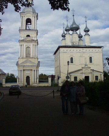 Our Lady of Smolensk Church (Smolenskaya tserkov) and Simeonovskaya Church