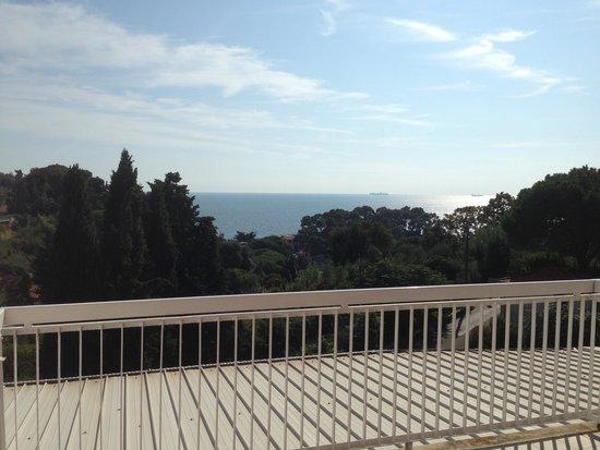 Hotel Ristorante Cristallo : Zimmer 24 mit Terasse