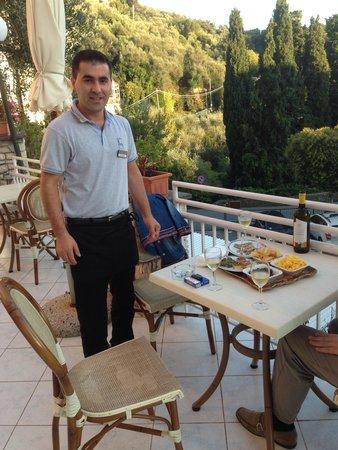 Hotel Ristorante Cristallo : Freundlicher und Grosszügier Service