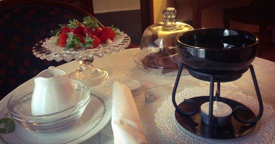 Massimo Plaza Hotel: fonduta di cioccolato #massimoplazahotel
