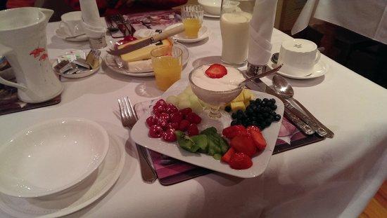 Castle House: Frühstück vegetarisch