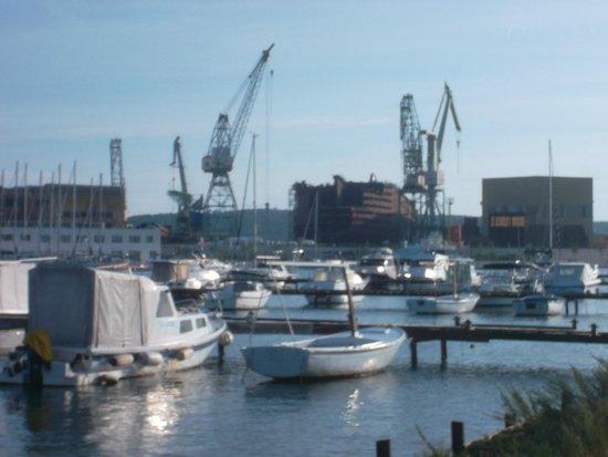 Hotel Jadran: Werft bei Trogir