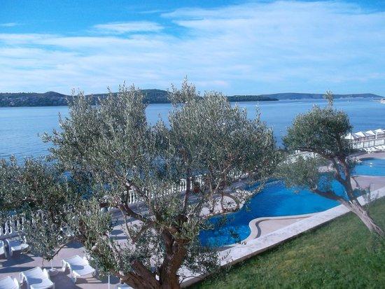Hotel Jadran: Aussicht aus Zimmer 513