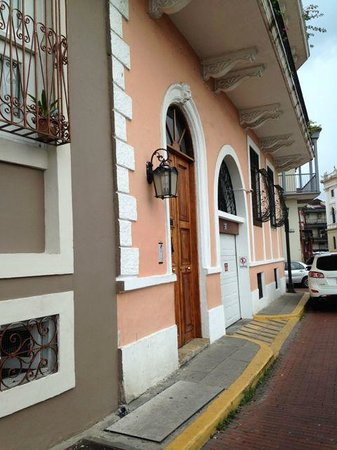 Casco Viejo: Old Houses Renovated In The Casco Viej, Panama Old Town