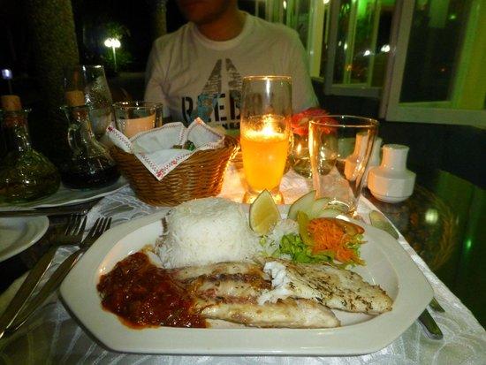 Capricorn Praslin: Abendessen im Capricorn