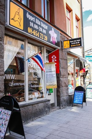 thaimassage handen spa stockholm city