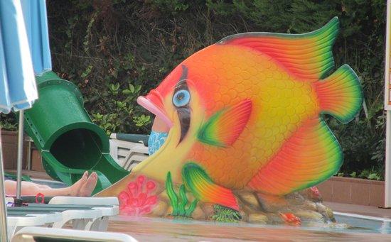 Family Life Avenida Suites: Kid's Fish Slide
