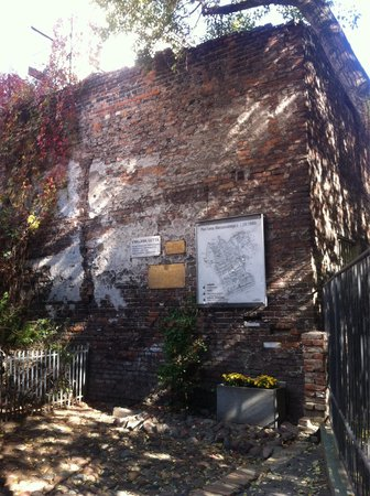 Fragment of Ghetto Wall: Enklawa Getta