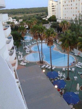 Blue Sea Gran Playa : Vista desde la habitación 514.