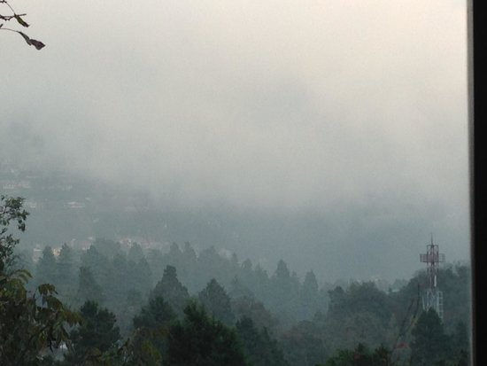 Abbotsford Nainital: View from the Juilette room