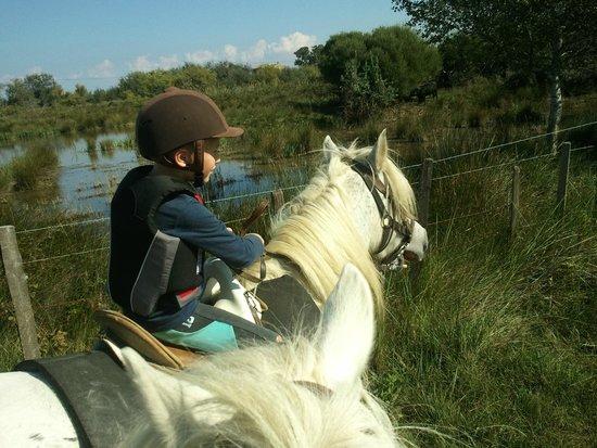 Promenade à cheval, Chez Elise : 2