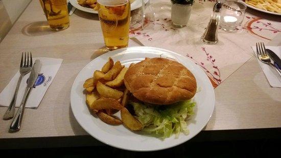 Moskus Grillen: Alce, un buon hamburgher