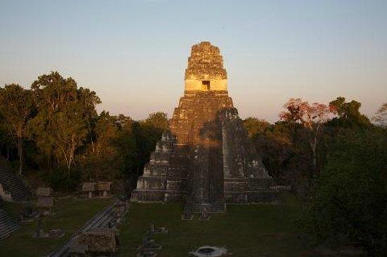 Tempel I: на закате